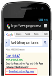Adwords Mobile Extension App