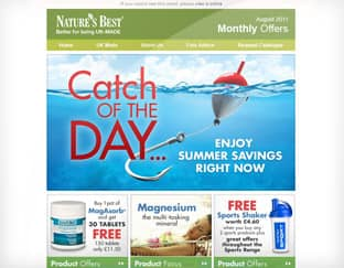 Nature's Best - Email Marketing