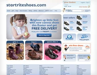 Start-rite Shoes - Ecommerce