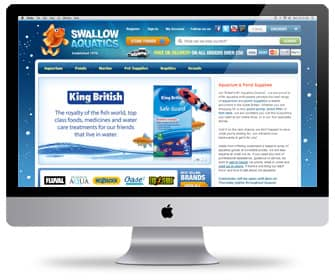 Swallow Aquatics - Search Engine Optimisation