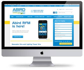 Abird - Website Build