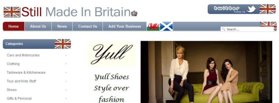 Still Made in Britain Directory