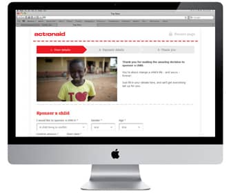 Action Aid - Ecommerce