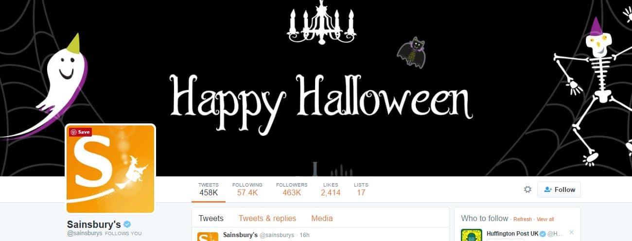 halloween twitter design