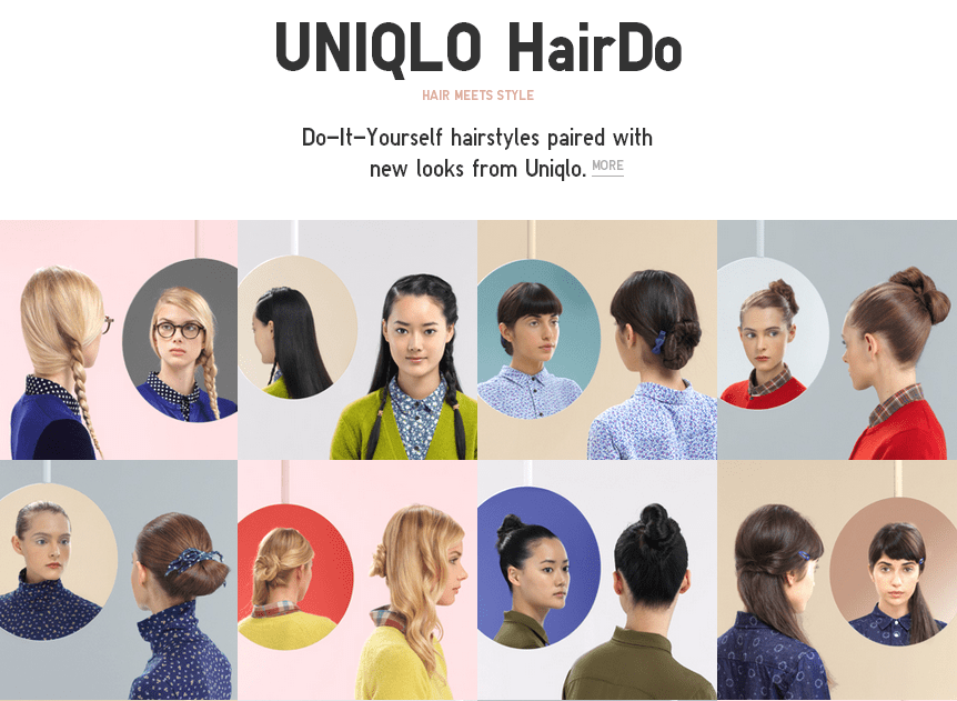 UNIQLO Haird Do