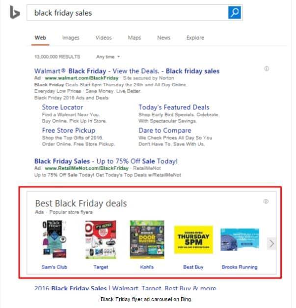 Bing Black Friday Deals