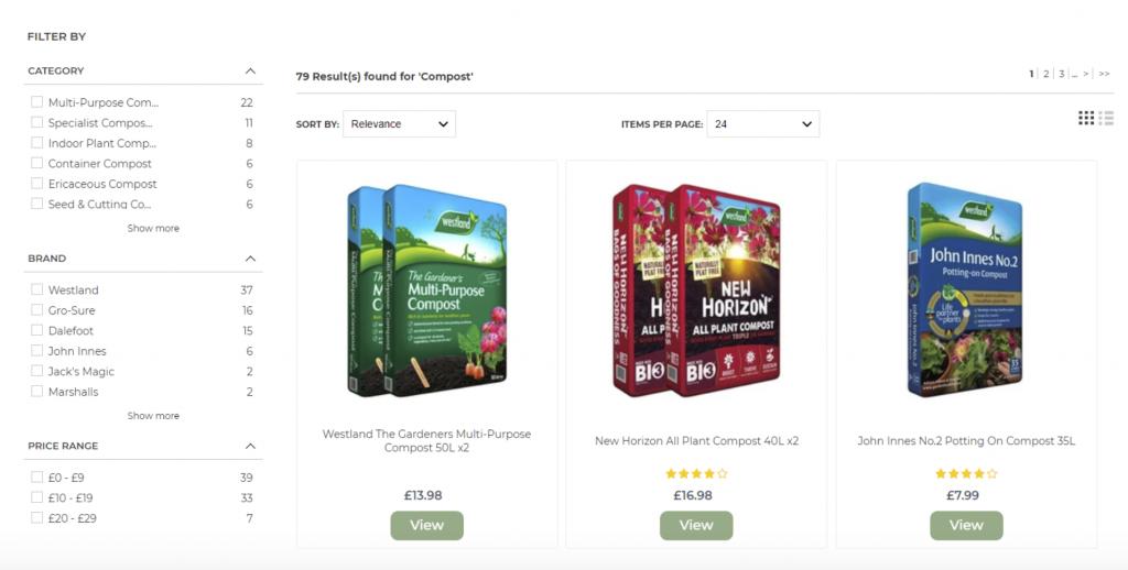 example of good product segmentation