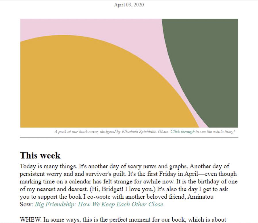 The Ann Friedman Weekly
